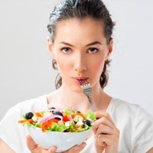 Рацион питания женщины