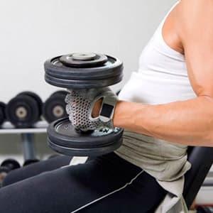 Как правильно подобрать вес штанги и гантелей