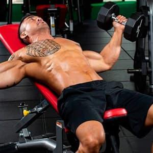 Тренировка верха грудных мышц
