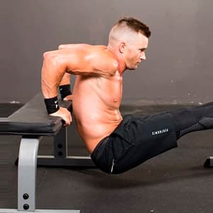 Как накачать трицепс: упражнения на трицепс дома и программа тренировок