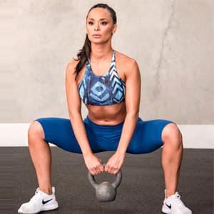 Приседания сумо: какие мышцы работают, техника выполнения
