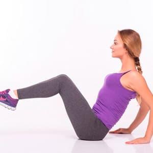 Комплекс упражнений для похудения живота