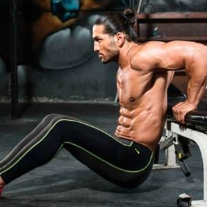 Как накачать трицепс: упражнения на трицепс в тренажерном зале и программа тренировок