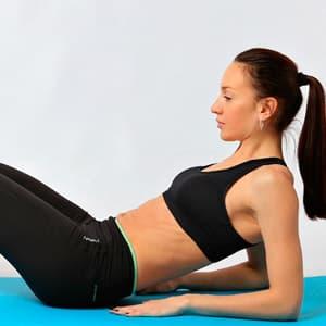 Упражнения для уменьшения живота и боков