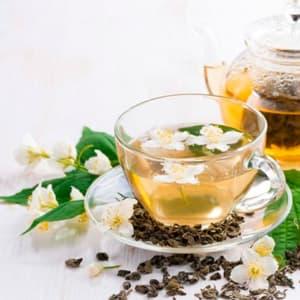 Зелёный жасминовый чай из Поднебесной