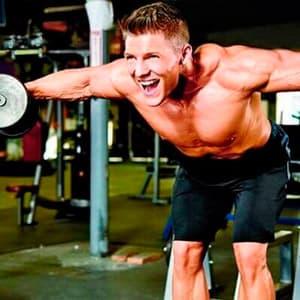 Программа тренировки плеч на массу