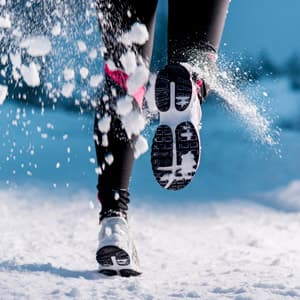 В чем бегать зимой на улице: особенности зимнего бега