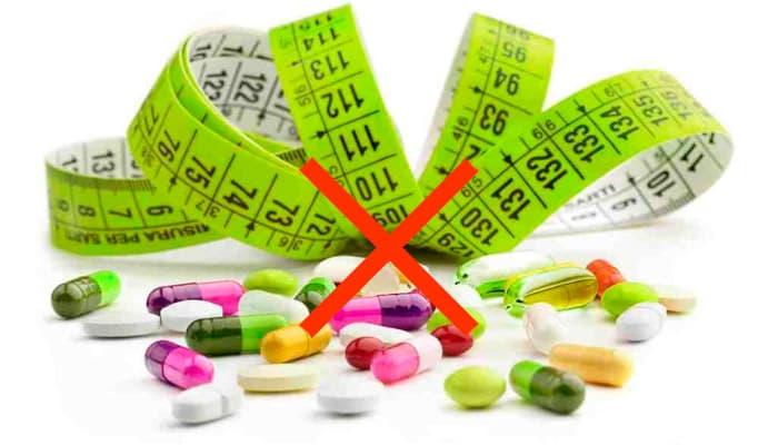 Отказ от препаратов для похудения